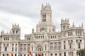 Madrid, Spain - Cibeles Palace