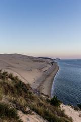 Coucher de soleil sur la Dune du Pyla