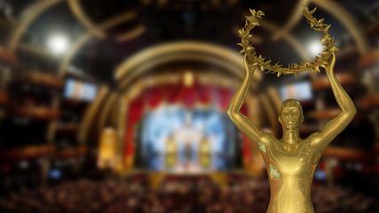 Gold Award - Stock Image