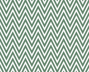 Green and White Zigzag Textured Fabric Repeat Pattern Background