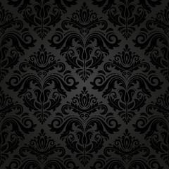 Damask Seamless Pattern. Abstract Background