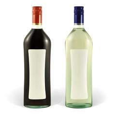bottle of martini