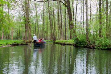 Boot im Spreewald