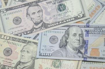 dollars, money background