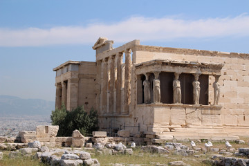 Erechtheion, The Acropolis of Athens, Greece