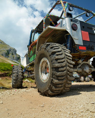 wheel - 4x4 offroad car