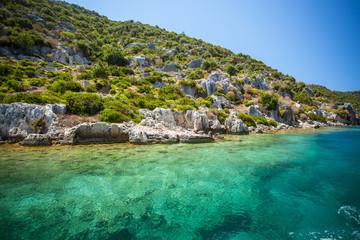 Deurstickers Turkije Mediterranean coast, Turkey.