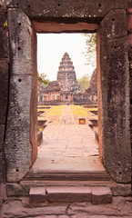 Phimai Historical Park is the important Khmer temple in Thailand