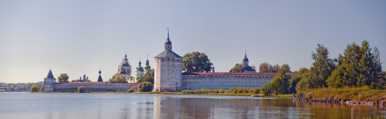 Summer panorama of St. Cyril of Beloozero's Monastery