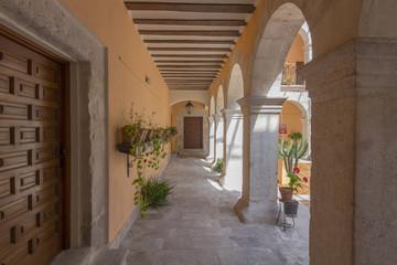 Printed roller blinds Dubai Convent Court, Santa Maria del Henar, Segovia, Spain