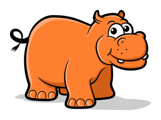 Hippo Cartoon