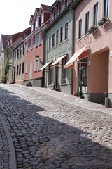Fischerstraße in Waren an der Müritz
