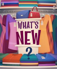 Shopping card \ poster design. Vector illustration.
