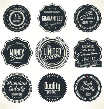 High Quality Labels Set