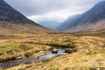 Glen Sannox  stream - Isle of Arran