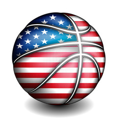 USA basket ball, vector