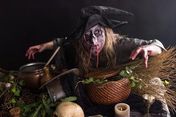 Hexe In Hexenküche