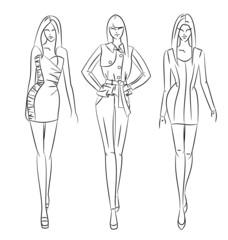 figurine de mode