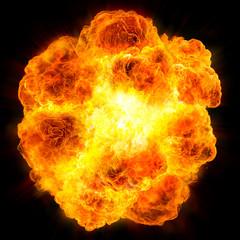 fireball: explosion