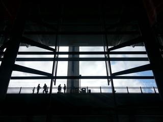 Airport arrival scene
