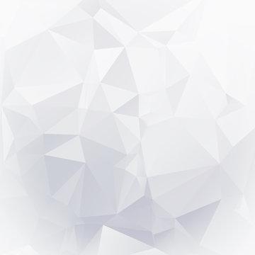 White diamond facet texture - bright background
