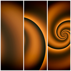 Modern spiral art