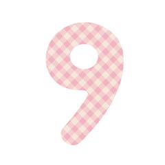 Pink squares pattern number nine