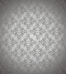 Dark silver vector background