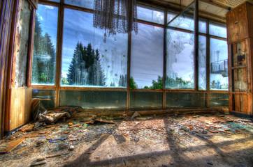 Fenster Ruine