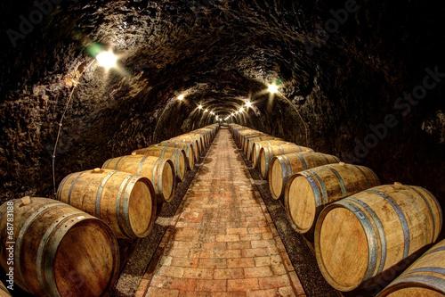 Fototapete Wine cellar in Tokaj, Hungary