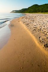 Peaceful Lake Michigan Beach