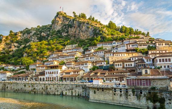 View at old city of Berat