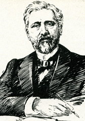 Gustave Eiffel, French civil engineer and architect