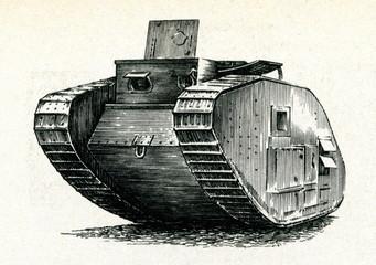"British tank ""Mark IV"" (1917)"