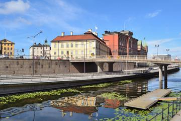 Stockholm. Island Riddarholmen