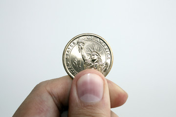 Only a coin