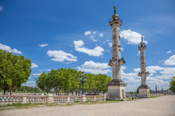 Bordeaux : place des Quinconces