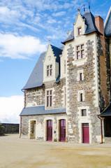 châteaux , Angers, france,  détail