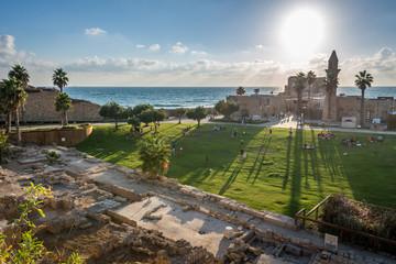 Fototapeten Mittlerer Osten Caesarea