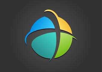 religious,logo,cross,spirit,abstract,plus,sphere,church,globe