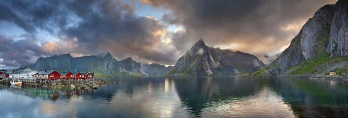 Lofoten Islands Panorama.
