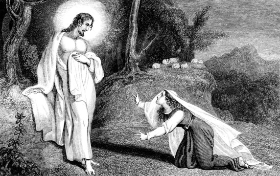 Jesus Christ appearing to Mary Magdalene