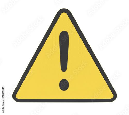 triangle signalisation danger point d 39 exclamation photo libre de droits sur la banque d. Black Bedroom Furniture Sets. Home Design Ideas