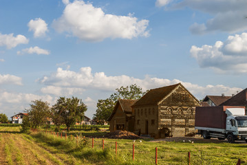Countryside - Farm, House, Barn and Truck
