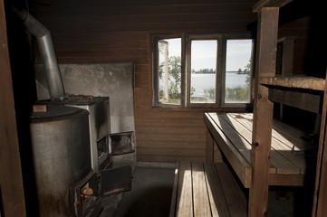 Sauna by the lake