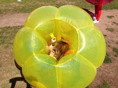 fun in a zorb ball