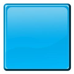 bouton carré bleu