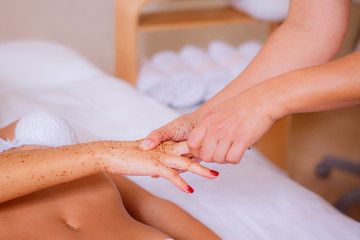 spa treatments for hands, hand care