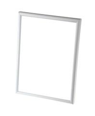 Empty whiteboard (empty frame) isolated on white