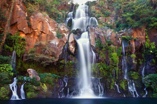 Cascade des Aigrettes, Réunion